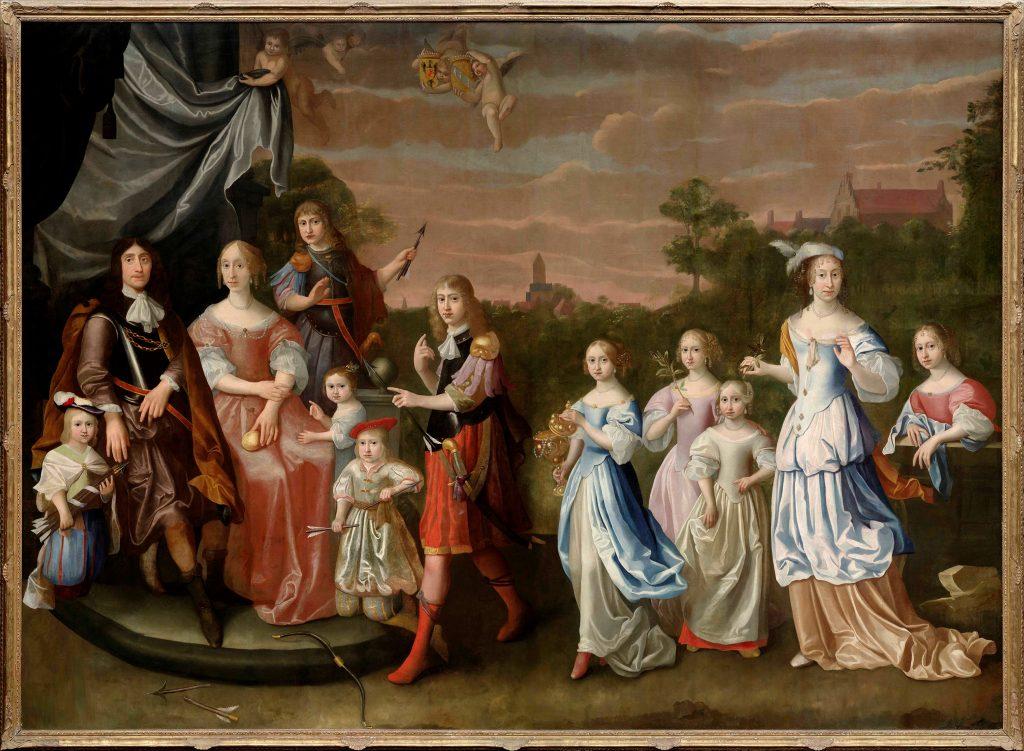 Het grootste familieportret van Nederland fam Tjarda Van Starkenborgh